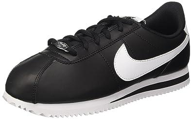 new styles 19f7e 4ecd1 Nike Boy s Cortez Basic SL (GS) Shoe, Black White, ...