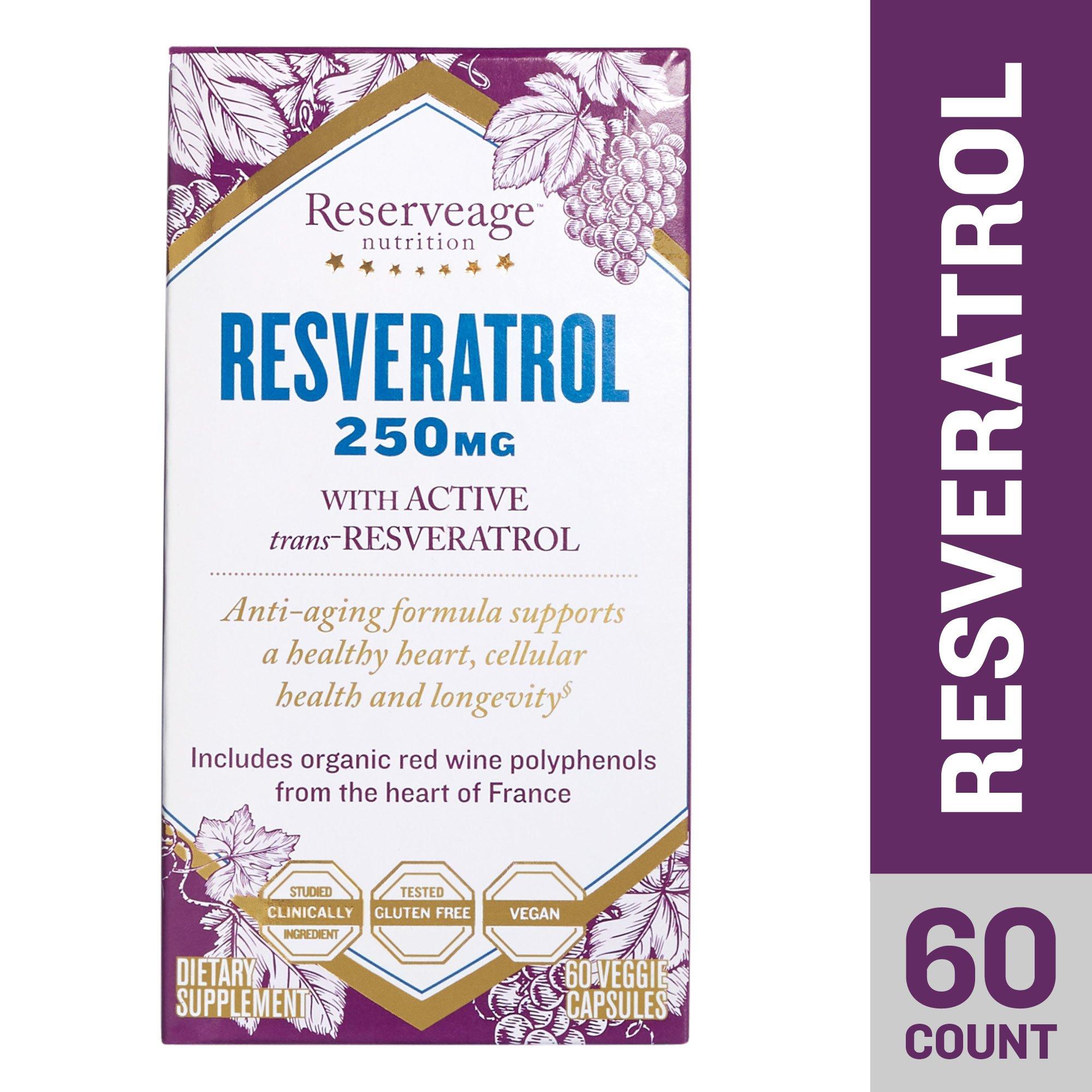 Reserveage - Resveratrol 250mg