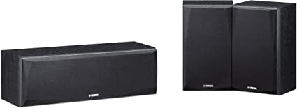 Yamaha NS-P51 - Altavoces Home Cinema, Color Negro