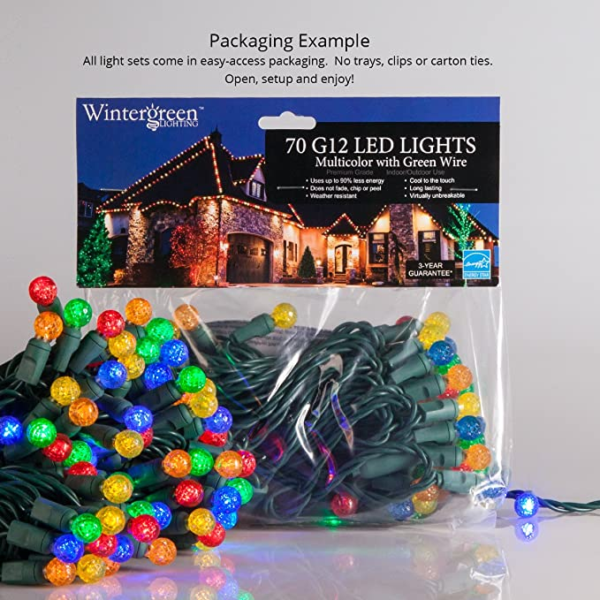 Remarkable Amazon Com Wintergreen Lighting G12 Cool White Ball Lights Wiring Cloud Hisonuggs Outletorg