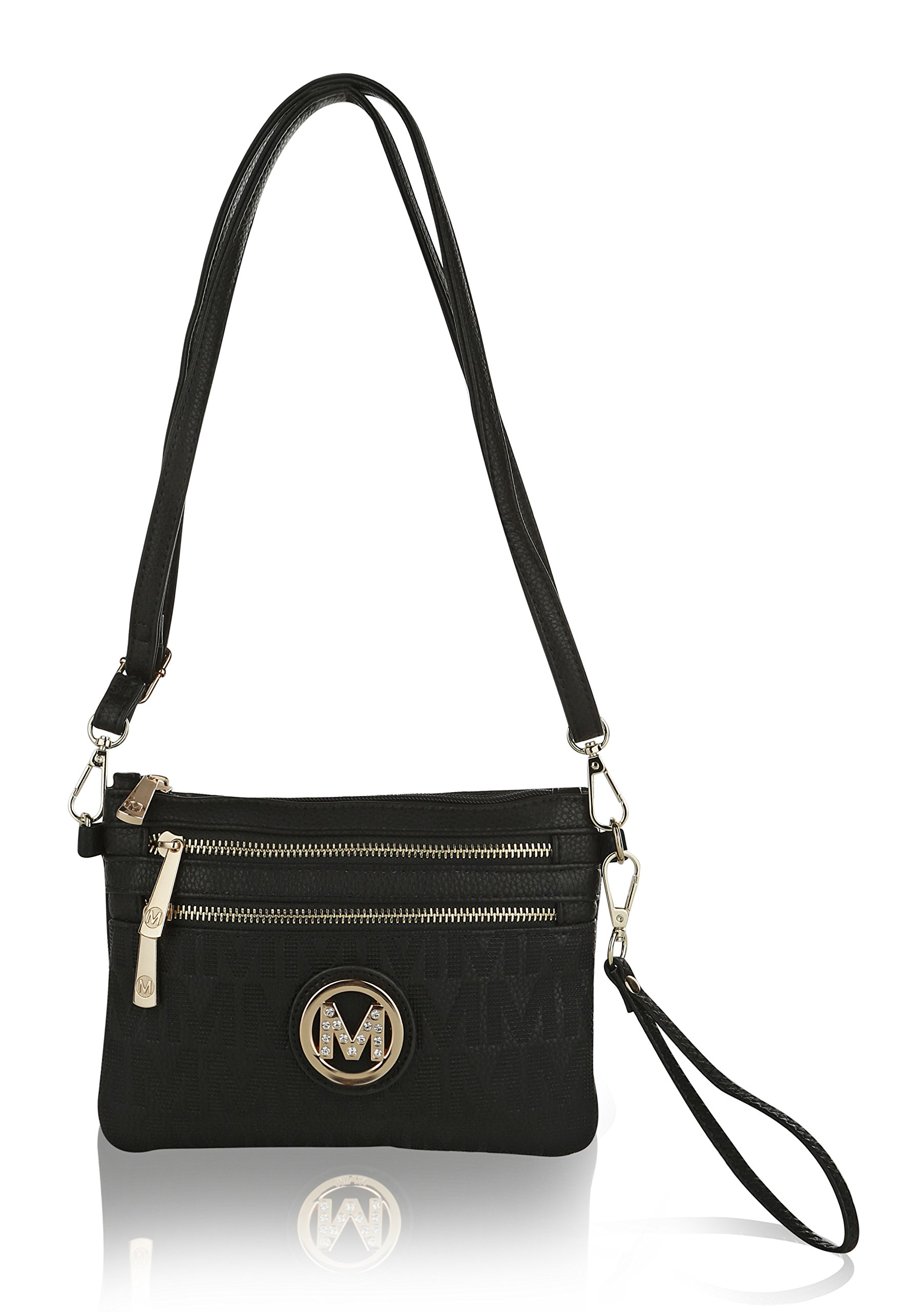 Wristlet | 2-in-1 Crossbody Bags for Women | MKF Collection Roonie Milan Signature Design by MKF Collection (Image #2)