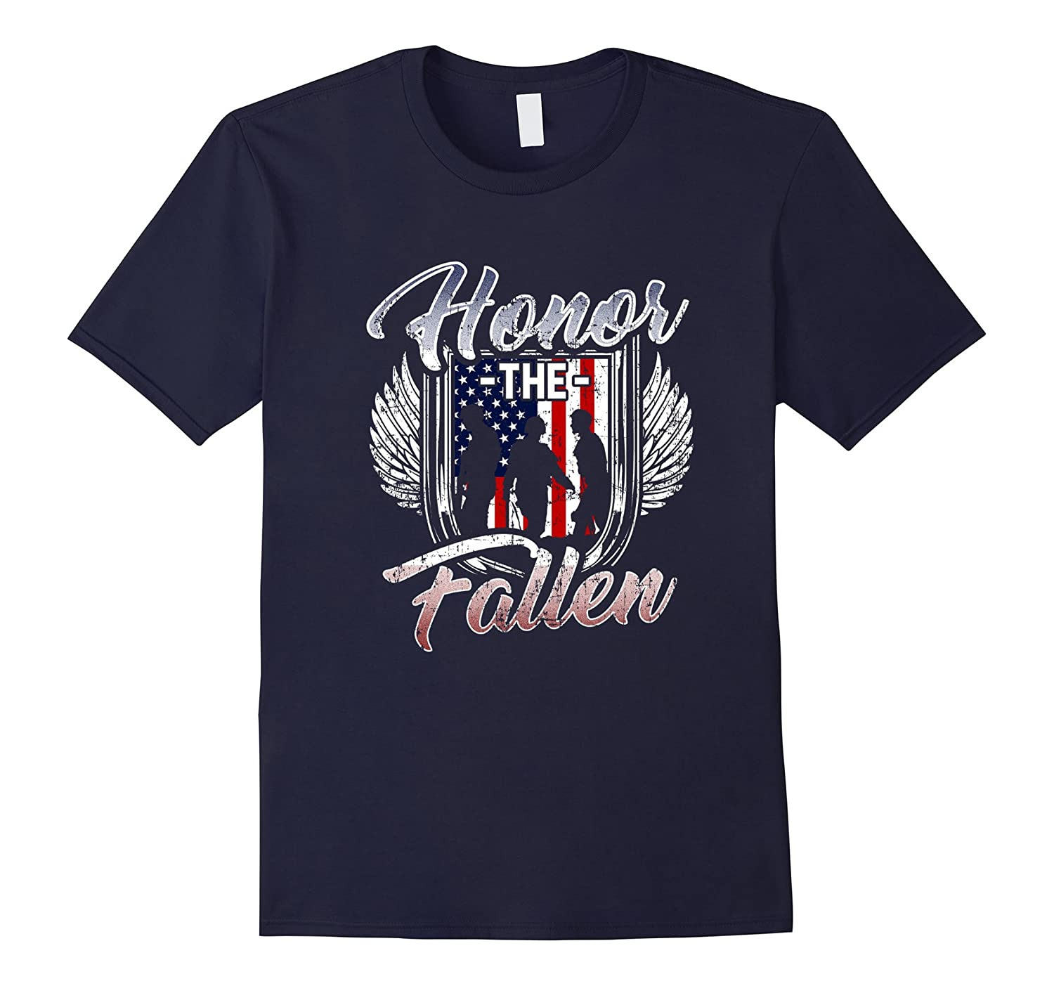 Honor the Fallen Military Freedom Pride T-Shirt-TH