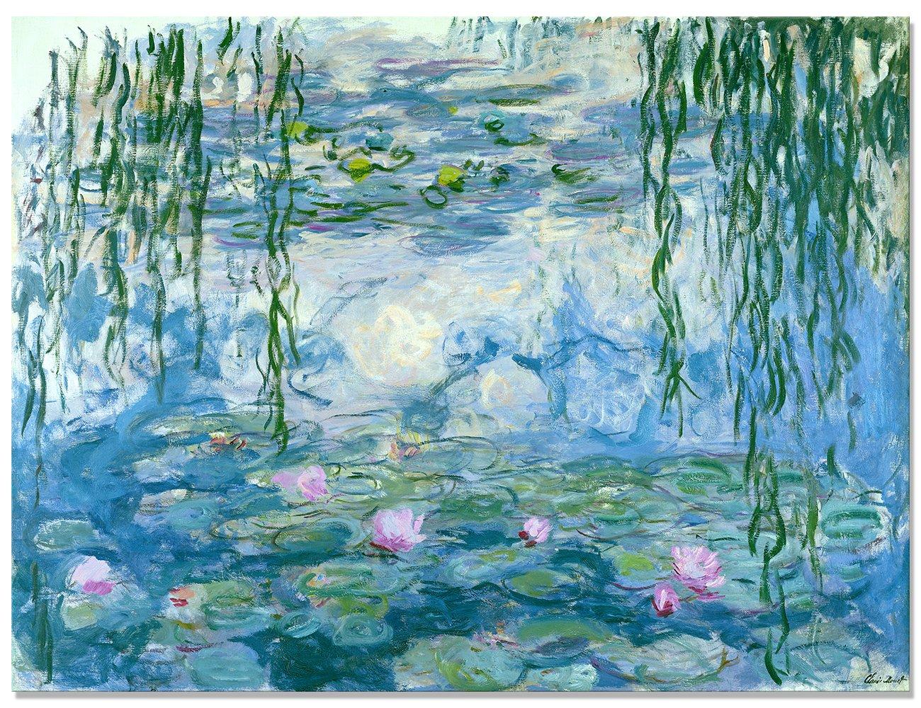 Maison Artwork Famous Impressionism Claude Monet Water