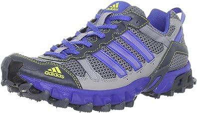 adidas Women\u0027s Thrasher Trail Running Shoe,Tech Grey/Lab Blue/Lab Lime,