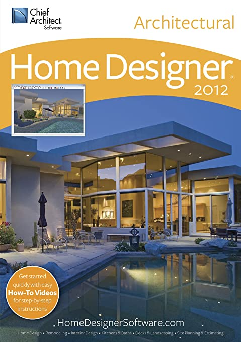 Amazon.Com: Home Designer Architectural 2012 [Download]: Software