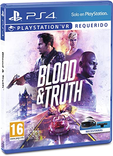 Blood and Truth: Sony: Amazon.es: Videojuegos