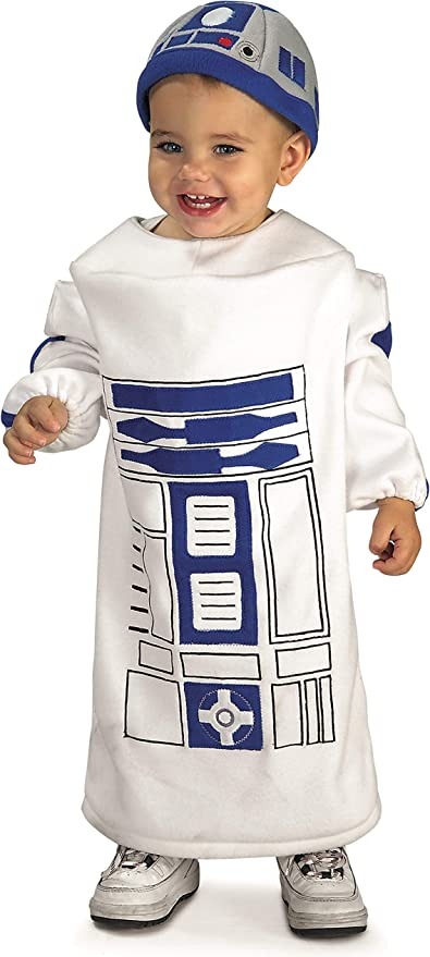 R2D2 PREMIUM Deluxe Star Wars Kids Toddler Costume 18 24 months 2T 3T 4T 3 4 XS