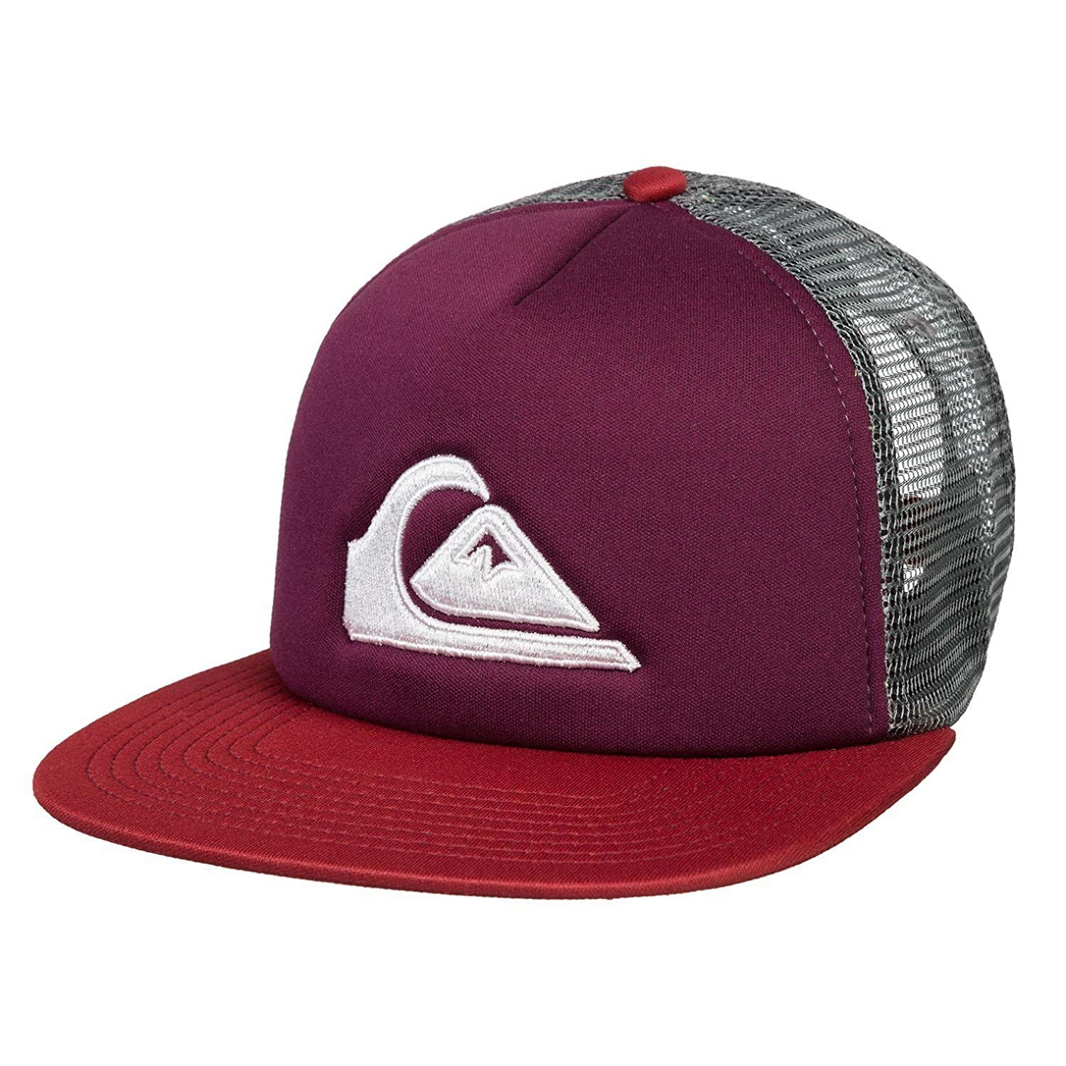 Quicksilver Wave and Mountain Surf Board Keeper Trucker Hat Skate Cap   Amazon.in  Clothing   Accessories ab425976ca0