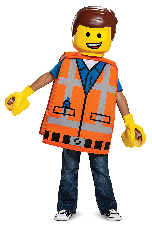 Disguise Emmet Basic Toddler Costume Yellow