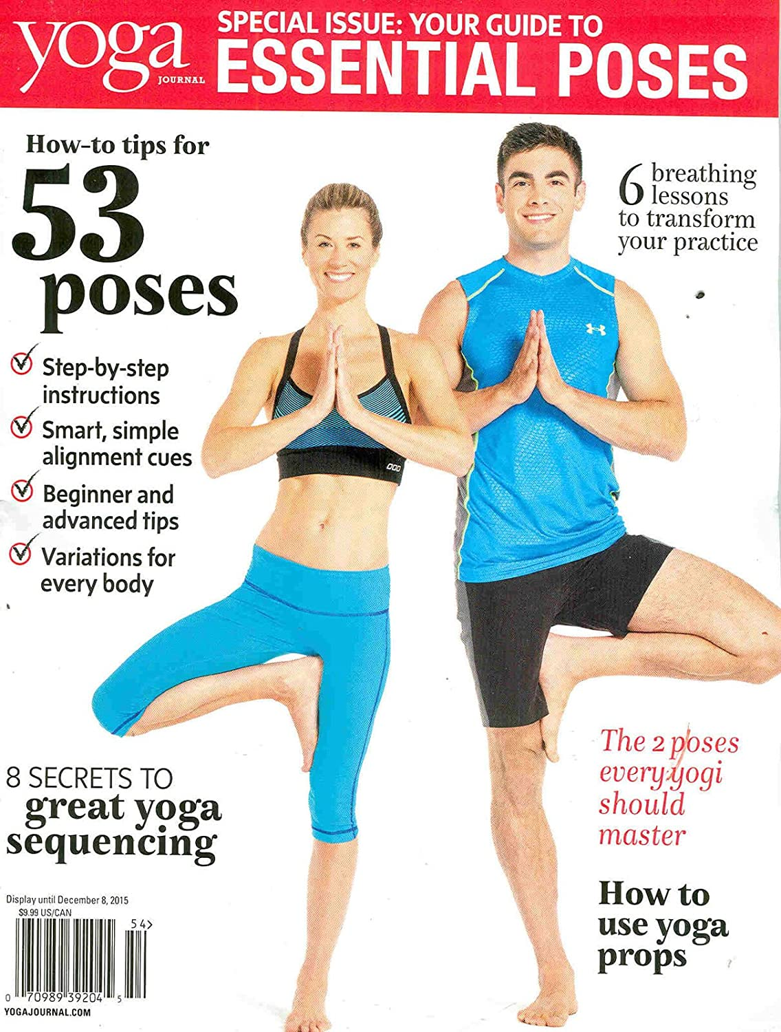 Amazon Com Yoga Journal Special Your Guide To Essential Poses Everything Else