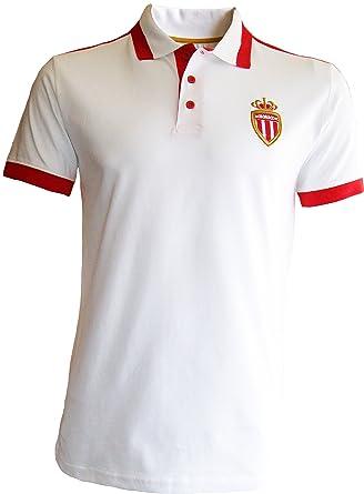 AS MONACO ASM - Polo Oficial fútbol Club Liga 1 - para Hombre ...