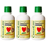 ChildLife Essentials Liquid Calcium/Magnesium Natural Orange Flavor, 16 ounce (Pack...