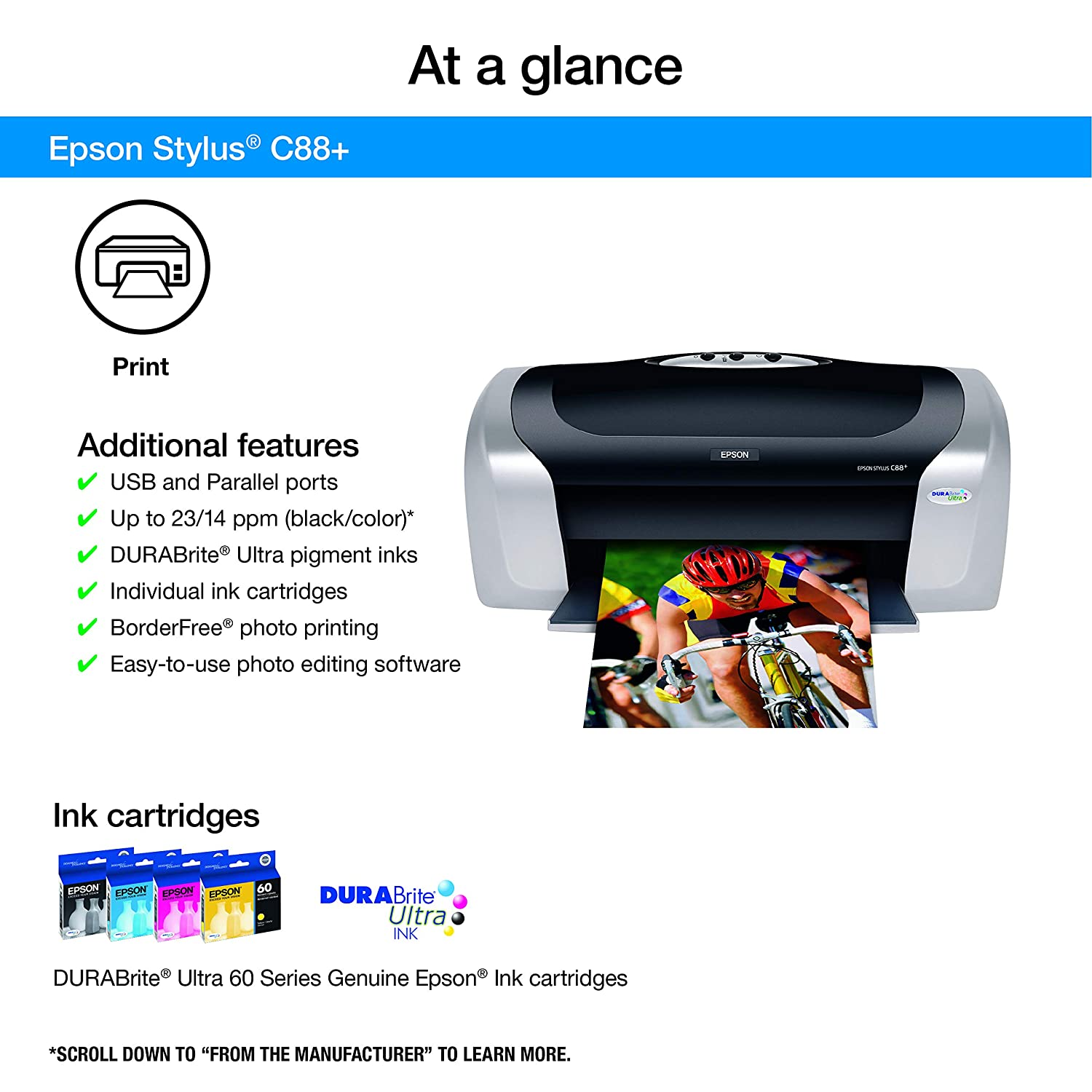 Epson Stylus C88 Printer Driver for Windows Mac