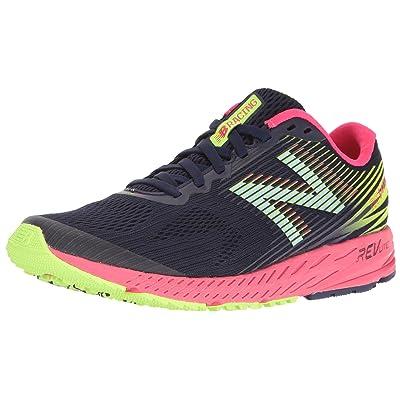 New Balance Women's 1400v5 Running Shoe, Dark Denim/Bright Cherry, 5.5 B US | Road Running