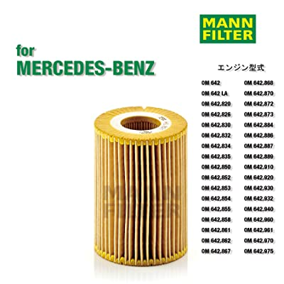 Mann-Filter HU 821 X Metal-Free Oil Filter: Automotive
