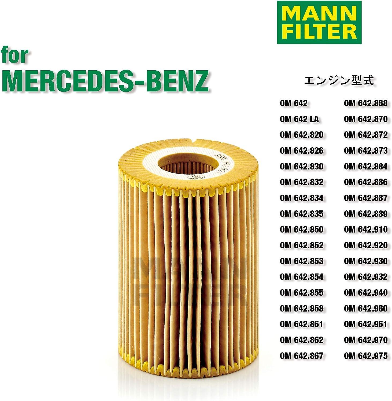 Filtro Olio Mann Filter HU 826 x