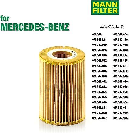 Mann Filter HU 821 X, Set de Filtro de aceite, juego de juntas ...