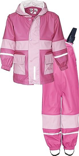 a310143d10e8 Playshoes Baby Kids Two-Piece Waterproof Rain Suit