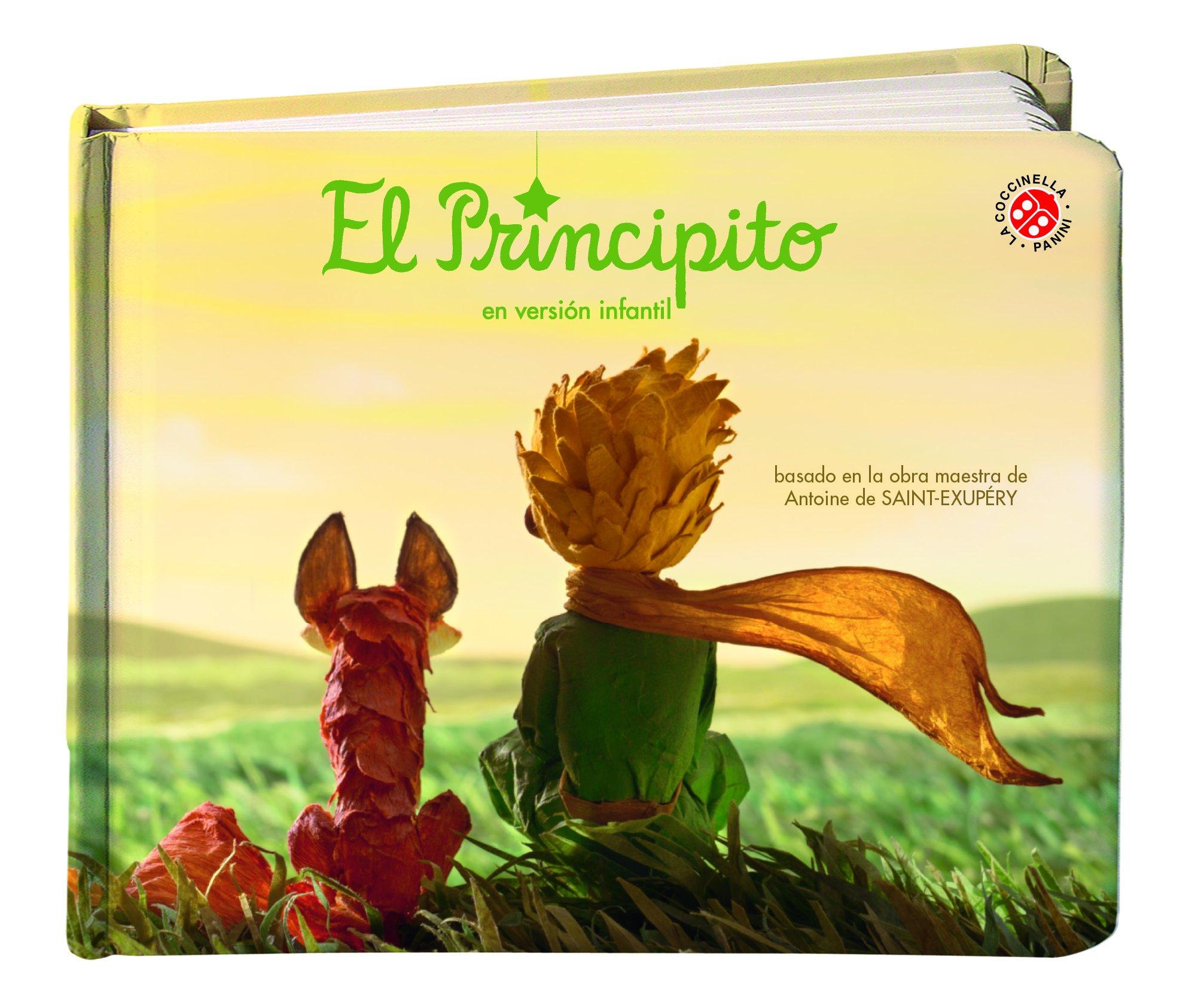 El Principito, En Versión Infantil. Libro Ilustrado: Amazon.es: Vv ...