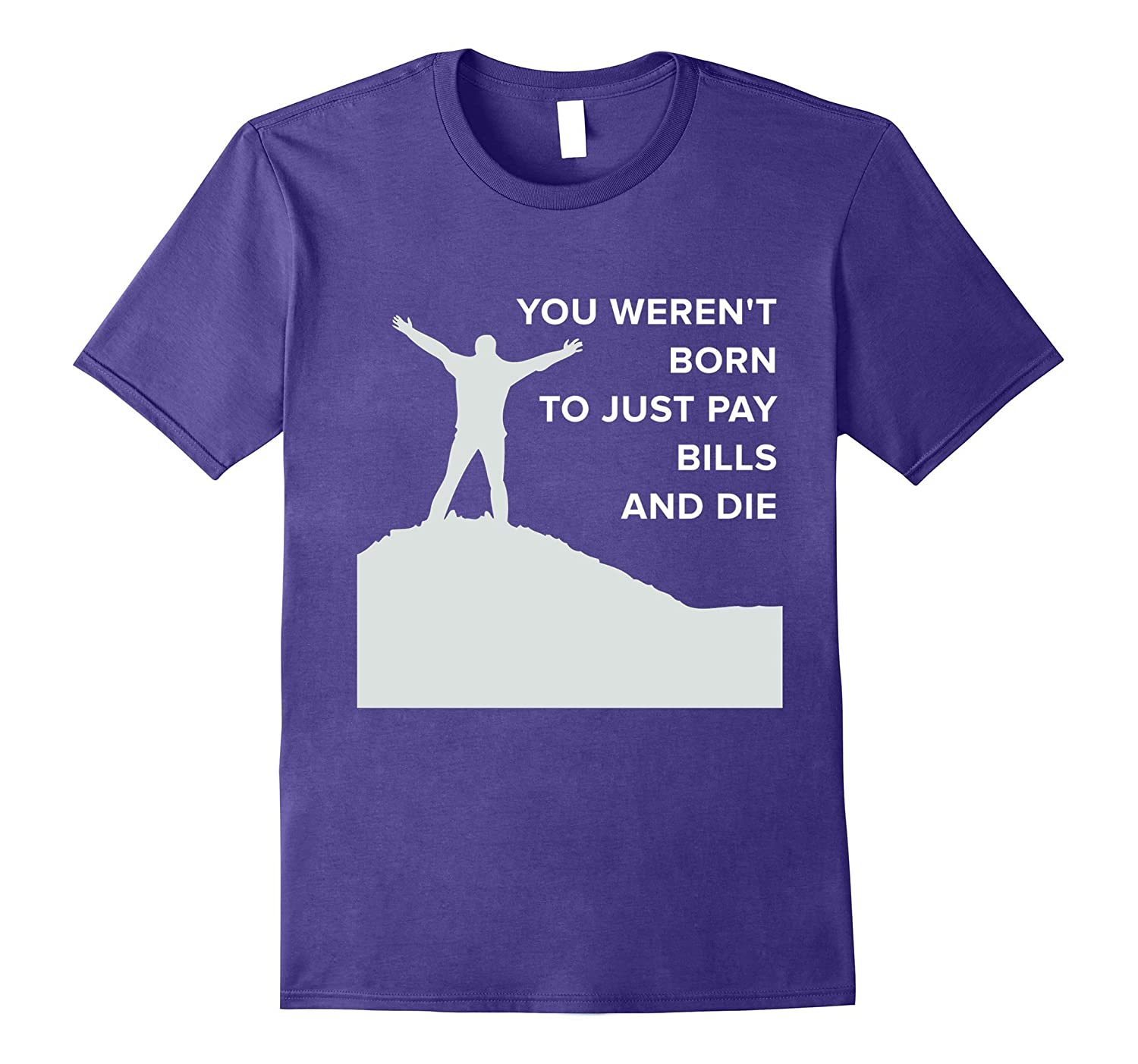 BORN TO LIVE LIFE T-SHIRT Make the most of it Tee