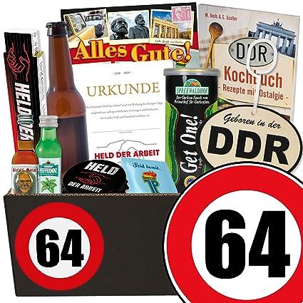 Geschenk Idee Zum 64 Männer Set Geschenke Zum 64 Geburtstag