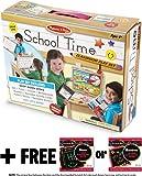 School Time Play Set +FREE Melissa & Doug Scratch Art Mini-Pad Bundle85144