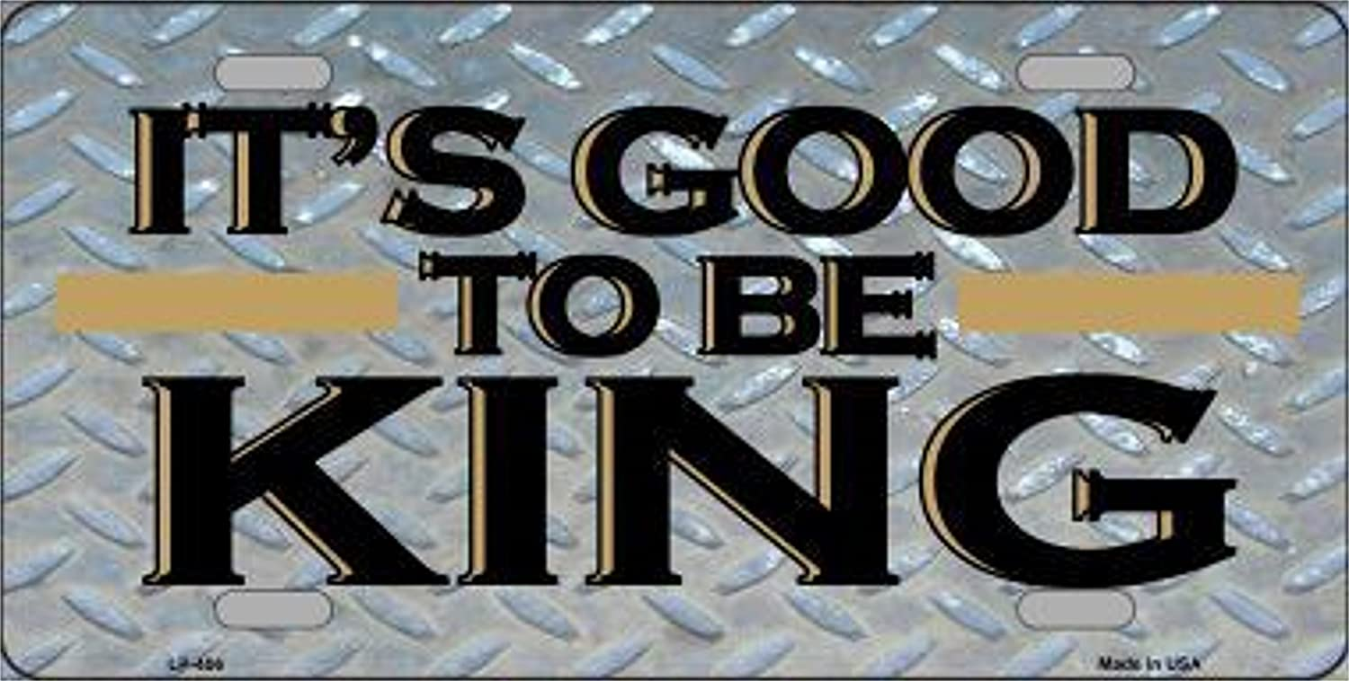LP 91688 406 Good to Be King License Plate