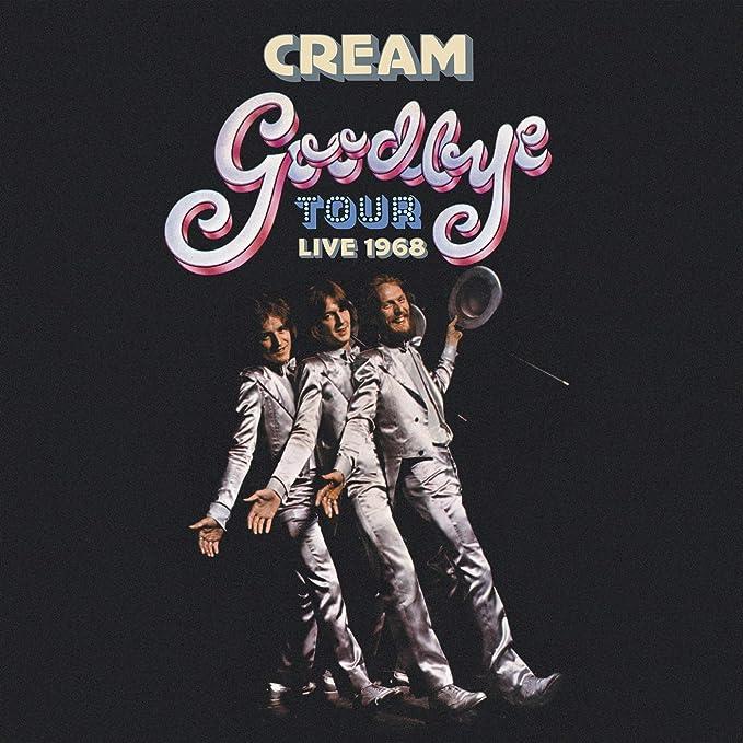 Goodbye Tour Live 1968 : Cream: Amazon.it: Musica
