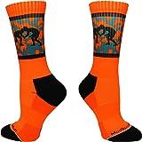 MadSportsStuff Fighting Wrestlers Athletic Crew Socks (multiple colors)
