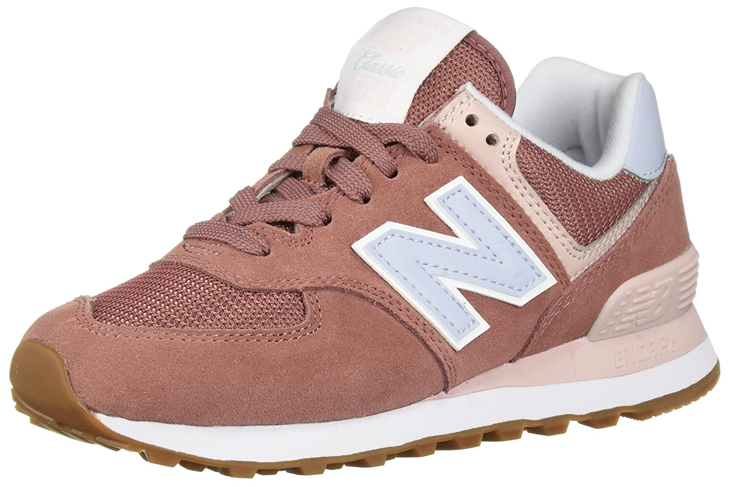 New Balance Wl574, Bottes 19998 Classiques Femme Orange Vapor/Conch (Dark Wl574, Oxide/Blue Vapor/Conch Shell Fld) a6d3843 - epictionpvp.space