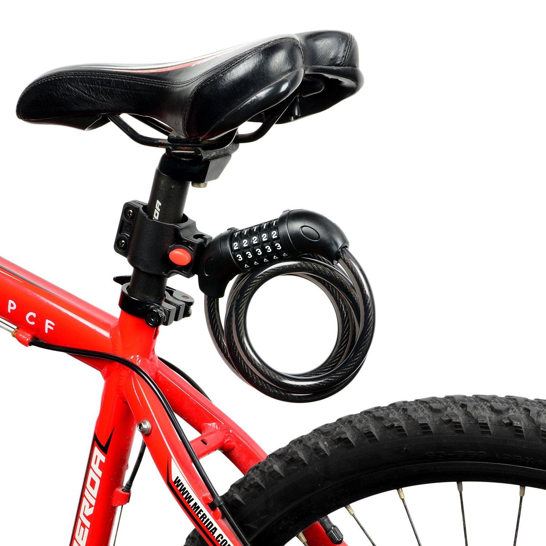 Nestling® Bicicleta Candado para bicicleta Ciclismo código ...