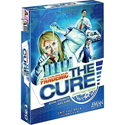 Z-Man Games Pandemic: The Cure: Toys & Games