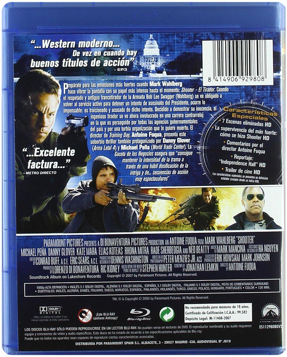 Amazon.com: Shooter: El Tirador (Blu-Ray) (Import Movie) (European Format - Zone B2) (2008) Elias Koteas; Michael Peña; Ra: Movies & TV