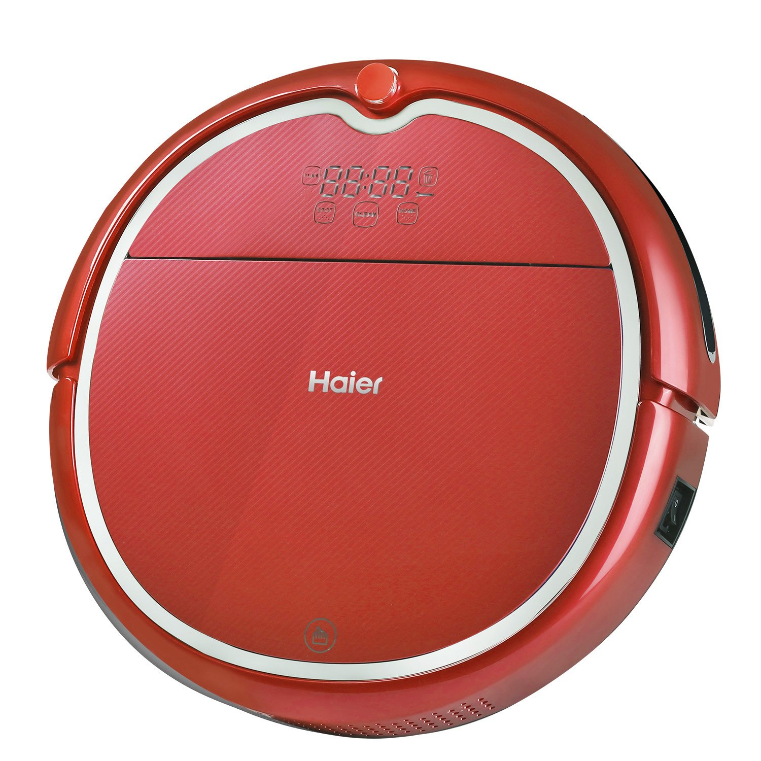 haier vacuum robot. amazon.com - haier robot vacuum cleaner floor with wet mop and self charging remote control red v