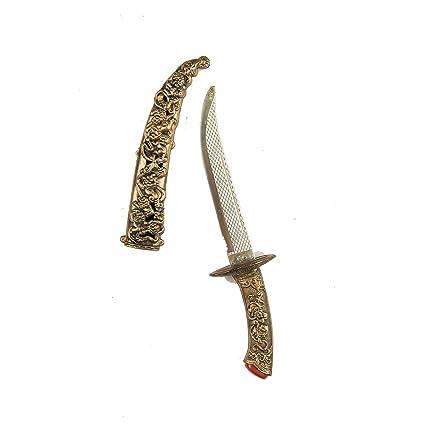 Viving Costumes 204798 Viving - Cuchillo árabe (37 x 8 x 3 ...