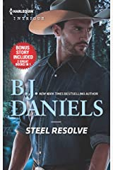 Steel Resolve & Crime Scene at Cardwell Ranch (Cardwell Ranch: Montana Legacy) Mass Market Paperback