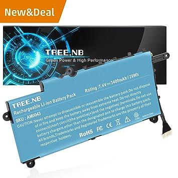 NB Batería del ordenador portátil para HP PAVILION 11-N X360 SERIES, Fit P/N HP PL02XL HSTNN-LB6B TPN-C115 751681-421 3 cell 3400mAh: Amazon.es: Electrónica