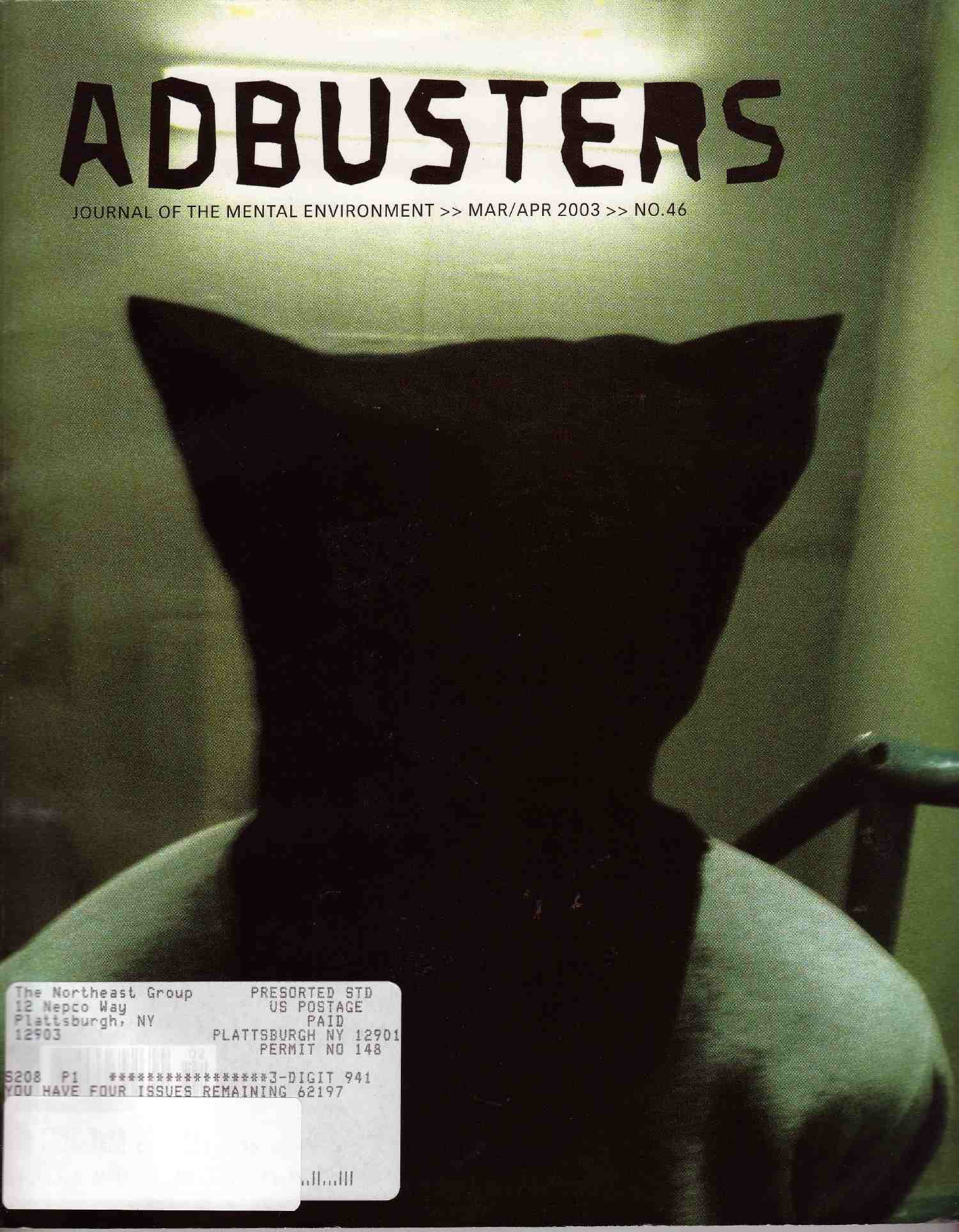 Download Adbusters, Journal of the Mental Environment, Mar/Apr 2002, No. 40 (Journal of the Mental Environment (bi-montly periodical), Vol. 10) ebook