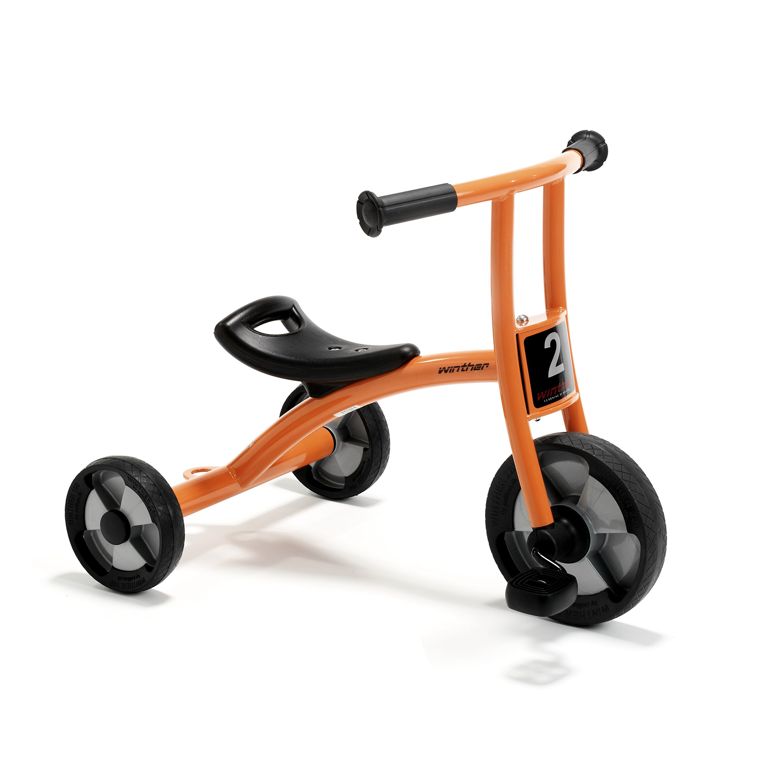 Winther WIN550 Circleline Tricycle, Small Grade Kindergarten to 1, 10.63'' Height, 18.5'' Wide, 24.41'' Length