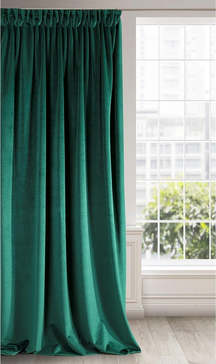 Moderne Gardinen Wohnzimmer Fensterdekoration Türkis Fenster 120-180  Nr 439