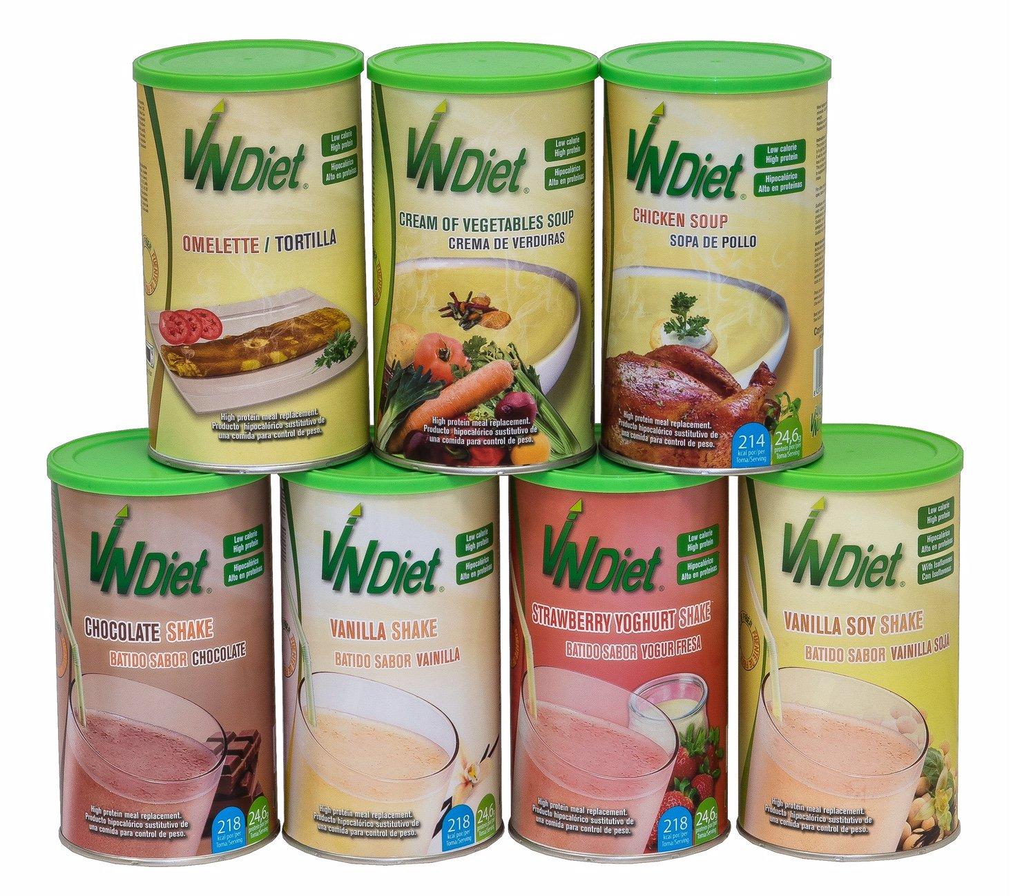 VNDiet - Batido Sustitutivo de Comida para Dieta | Batido para ...