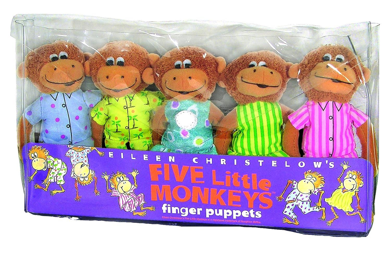Amazon.com: Juego de títeres de dedo, de Merrymakers ...