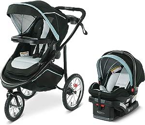Graco Modes Jogger 2.0 Travel System | Includes Jogging Stroller and SnugRide SnugLock 35 LX Infant Car Seat, Ferris