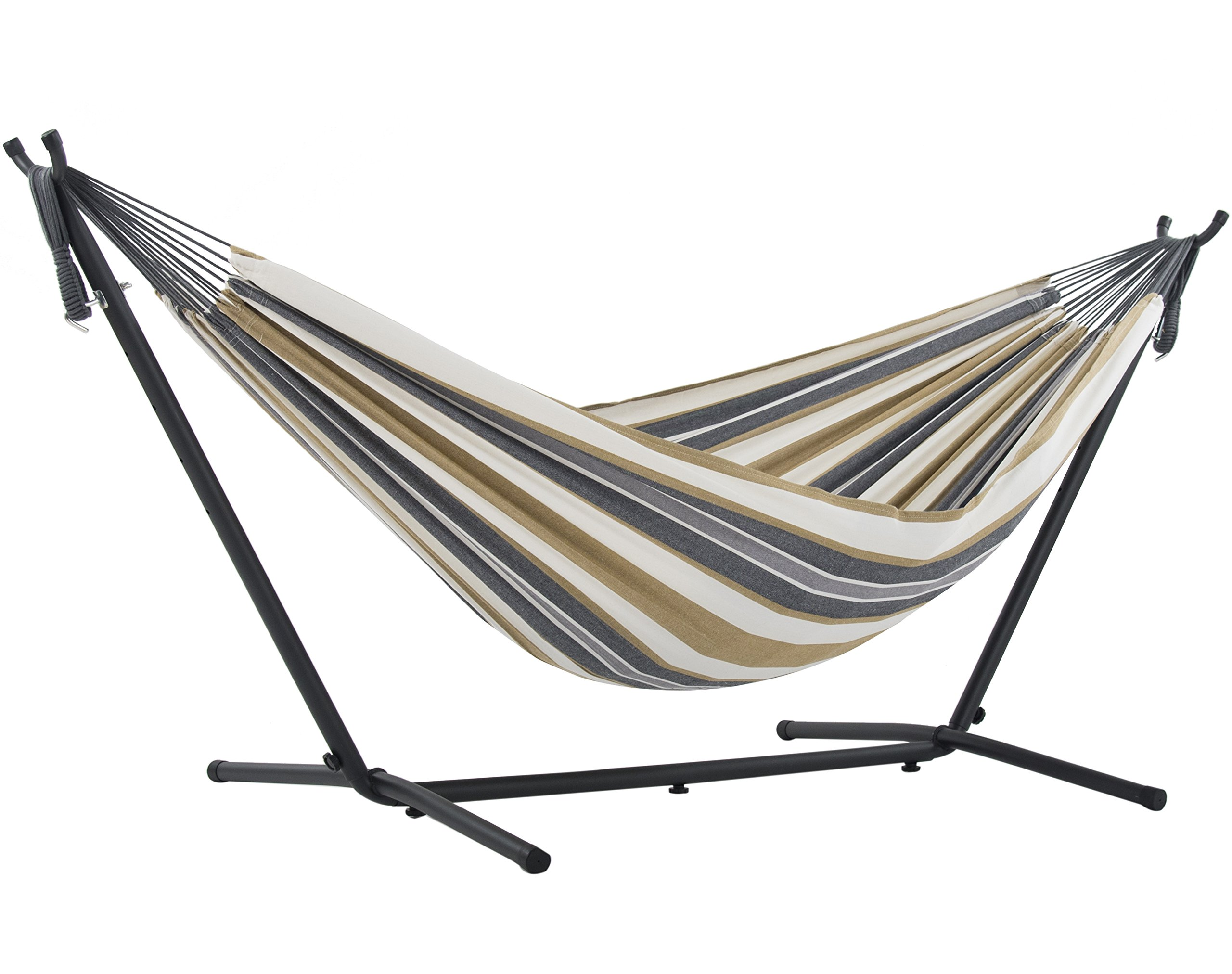 with vivere space costco double net tarp hammock oasis deluxe steel stand saving chair eno and mosquito amazon