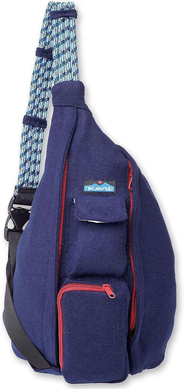 KAVU Rope Peacoat Sling Rope Crossbody Bag