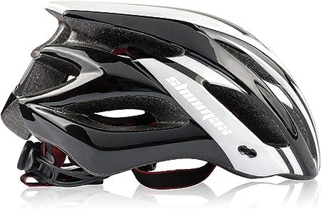 Shinmax Casco Bicicleta Adulto,Casco Bicicleta conVisera,Certificado CE,Casco de Bicicleta para Hombres y Mujeres,Protección de Seguridad Vial en ...