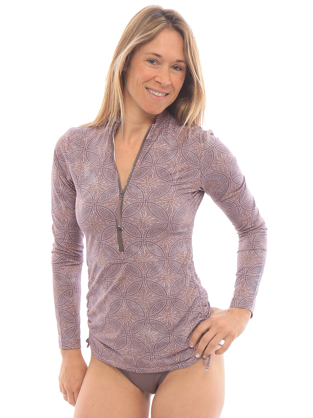 CARVE Designs Cruz Rashguard Batik/Sparrow XS