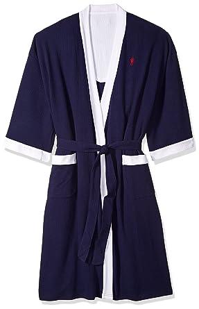 Amazon.com  Jockey Men s Waffle-Weave Kimono Robe  Clothing e9195d01a