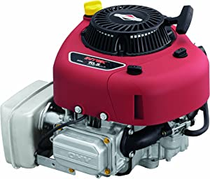Briggs & Stratton 21R702-0070-F1 344cc 11.5 Gross HP Intek Engine with a 1-Inch Diameter by 3-5/32-Inch Length Crankshaft and Keyway Tapped 7/16-20-Inch,Red