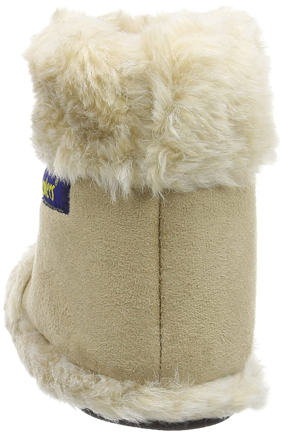 Coolers Womens Fleece Lined Microsuede High-Top Boot Slipper